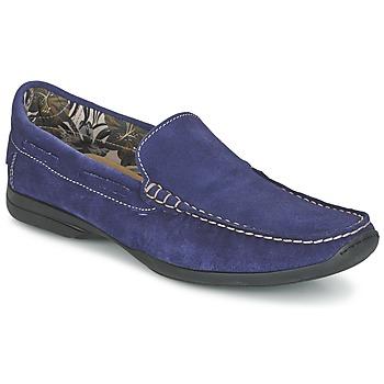 Schuhe Herren Slipper So Size ELIJA Blau