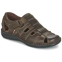 Chaussures Homme Sandales et Nu-pieds Casual Attitude ZIRONDEL Marron