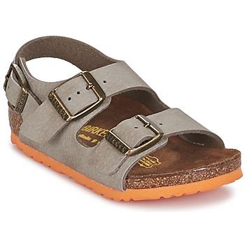 Schuhe Jungen Sandalen / Sandaletten Birkenstock MILANO Maulwurf
