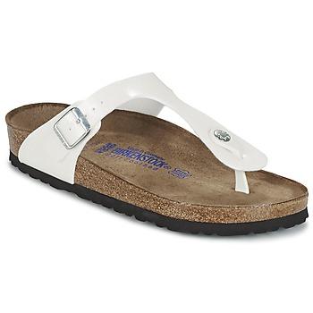 Chaussures Femme Tongs Birkenstock GIZEH Blanc