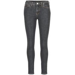 Kleidung Damen Slim Fit Jeans Love Moschino AGAPANTE Grau