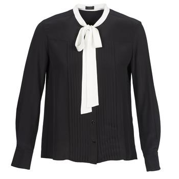 Kleidung Damen Hemden Joseph VICTOIRE Schwarz