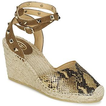 Chaussures Femme Sandales et Nu-pieds Ash WINONA Doré