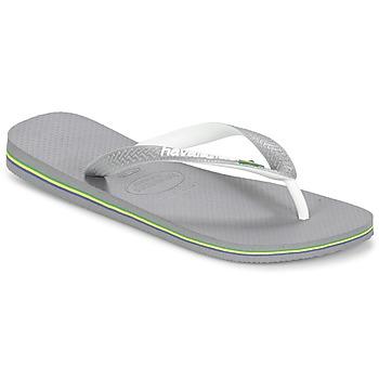 Chaussures Tongs Havaianas BRASIL MIX Gris