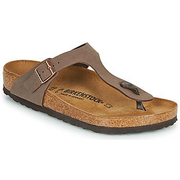 Chaussures Tongs Birkenstock GIZEH Marron