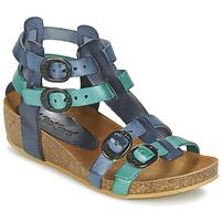 Schuhe Mädchen Sandalen / Sandaletten Kickers BOMDIA Blau