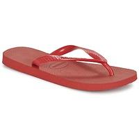 Schuhe Zehensandalen Havaianas TOP Rubinrot / Rot