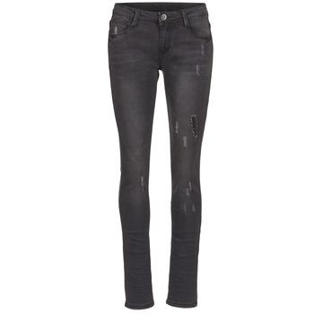 Vêtements Femme Jeans slim Yurban IETOULETTE Noir