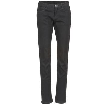 Vêtements Femme Jeans droit Yurban IESQUANE Noir