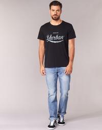 Abbigliamento Uomo Jeans dritti Yurban IEDABALO Blu / Clair