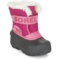 Schuhe Kinder Schneestiefel Sorel CHILDRENS SNOW COMMANDER Rose