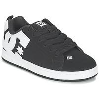 Schuhe Herren Skaterschuhe DC Shoes COURT GRAFFIK Schwarz