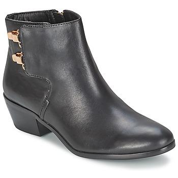 Chaussures Femme Bottines Sam Edelman PETER Noir