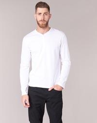 Kleidung Herren Langarmshirts BOTD ETUNAMA Weiss