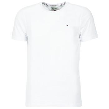 Vêtements Homme T-shirts manches courtes Tommy Jeans NOSS Blanc