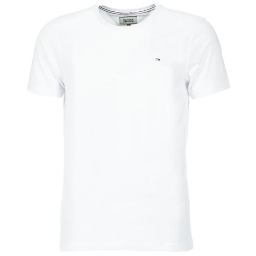 Vêtements Homme T-shirts manches courtes Tommy Jeans OFLEKI Blanc