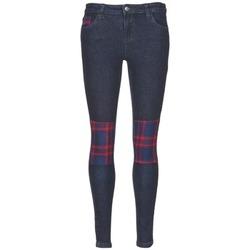 Kleidung Damen Slim Fit Jeans American Retro LOU Blau