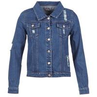 Abbigliamento Donna Giacche in jeans Yurban ESPINALE Blu / Scuro