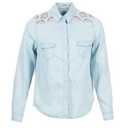 Abbigliamento Donna Camicie Yurban EGUATOULE Blu / Clair