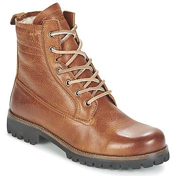 Chaussures Femme Boots Blackstone MAZINE Marron