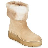 Schuhe Damen Boots Nome Footwear MOVETTA Beige