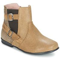 Schuhe Mädchen Boots Aster DESIA Beige