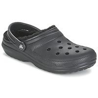 Chaussures Sabots Crocs CLASSIC LINED CLOG Noir