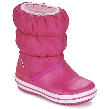 Scarpe Bambina Stivali da neve Crocs WINTER PUFF BOOT KIDS Rosa