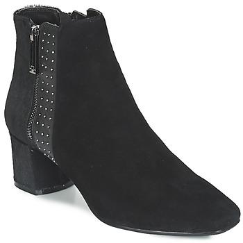 Schuhe Damen Low Boots Luciano Barachini JOU Schwarz