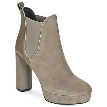 Schuhe Damen Low Boots Luciano Barachini MILI Maulwurf