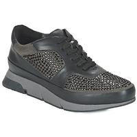 Schuhe Damen Sneaker Low Luciano Barachini OXFORD Grau