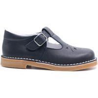 Chaussures Fille Ballerines / babies Boni & Sidonie Sandale Salomé Cuir - HENRY Bleu Marine