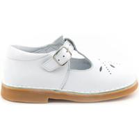 Chaussures Fille Ballerines / babies Boni & Sidonie Sandale Salomé Cuir - HENRY Blanche
