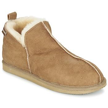 Schuhe Damen Hausschuhe Shepherd ANNIE Braun