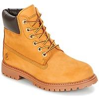Schuhe Damen Boots Lumberjack RIVER Honig