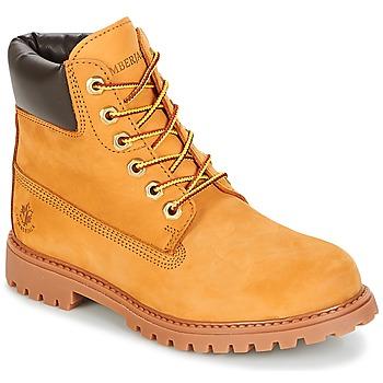 Chaussures Femme Boots Lumberjack RIVER Miel
