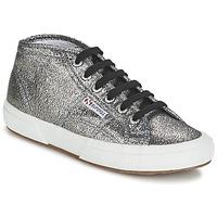 Scarpe Donna Sneakers alte Superga 2754 LAMEW Argento