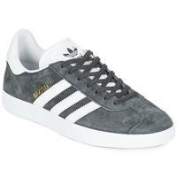Chaussures Baskets basses adidas Originals GAZELLE Gris foncé