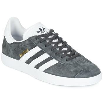 Schuhe Sneaker Low adidas Originals GAZELLE Grau