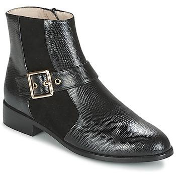 Schuhe Damen Boots Mellow Yellow ALDANA Schwarz