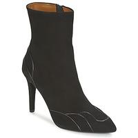Schuhe Damen Low Boots Heyraud DARLING Schwarz