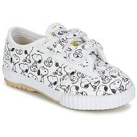 Scarpe Unisex bambino Sneakers basse Feiyue FE LO SNOOPY EC Bianco