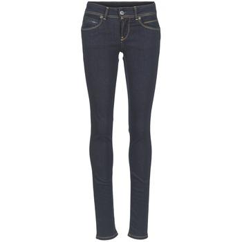 Kleidung Damen Slim Fit Jeans Pepe jeans NEW BROOKE M15 / Blau