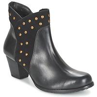 Chaussures Femme Bottines Hush puppies KRIS KORINA Noir