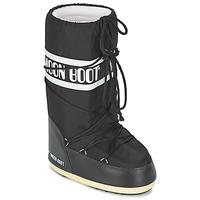 Schuhe Schneestiefel Moon Boot MOON BOOT NYLON Schwarz