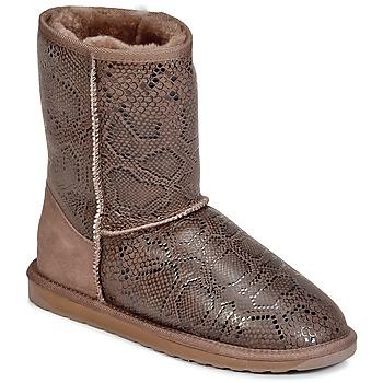 Chaussures Femme Boots EMU STINGER PRINT LO Marron