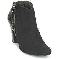 Schuhe Damen Ankle Boots France Mode NANTES Schwarz