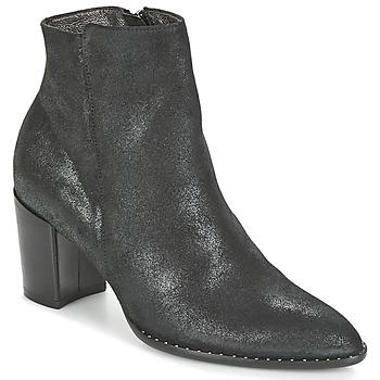 Schuhe Damen Low Boots France Mode OLFY Schwarz