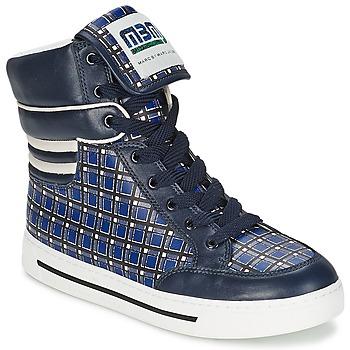 Schuhe Damen Sneaker High Marc by Marc Jacobs CUTE KIDS MINI TOTO PLAID Blau / Bunt