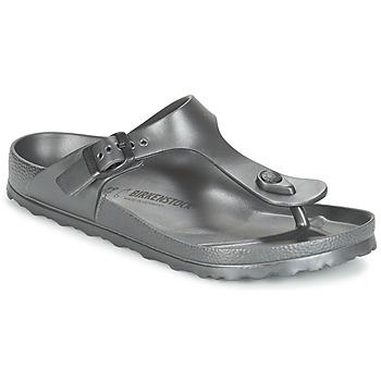 Schuhe Damen Zehensandalen Birkenstock GIZEH EVA Antrazit